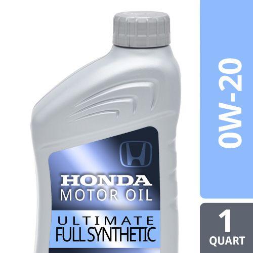Honda/Acura 0W-20 Full Synthetic Motor Oil (Quart): K