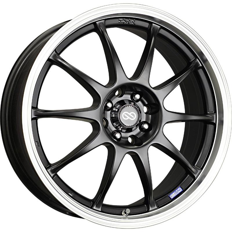Enkei J10 Black Wheel: 16x7 +42