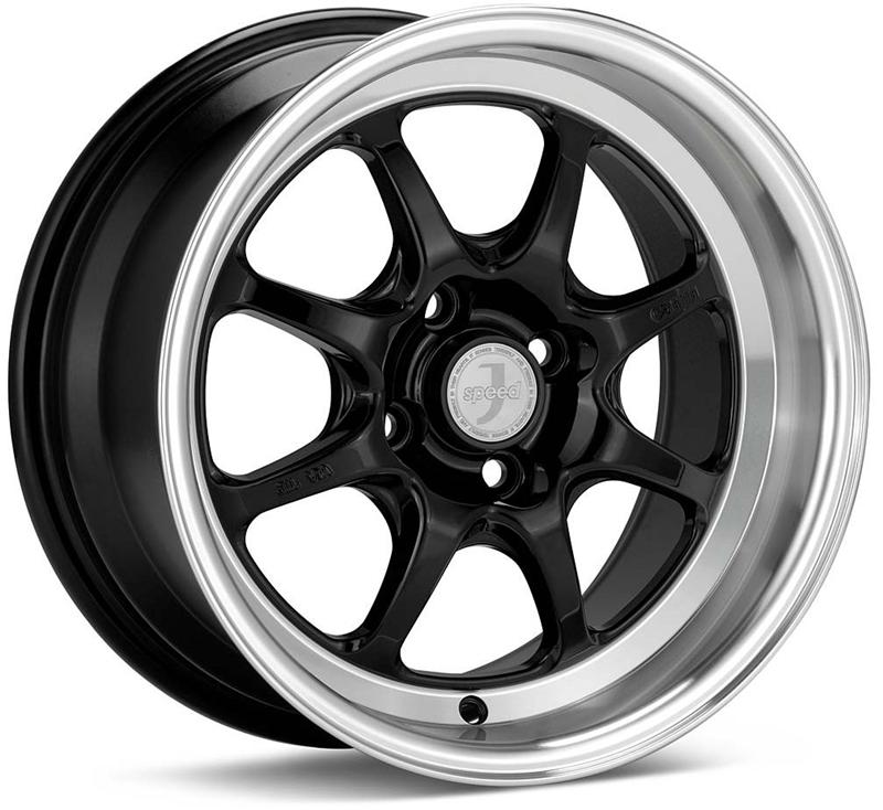 Enkei J-SPEED Black Wheel: 15x8 +25