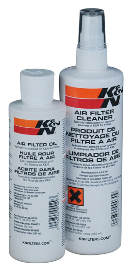 K&N Oiled Filter Cleaning Kit