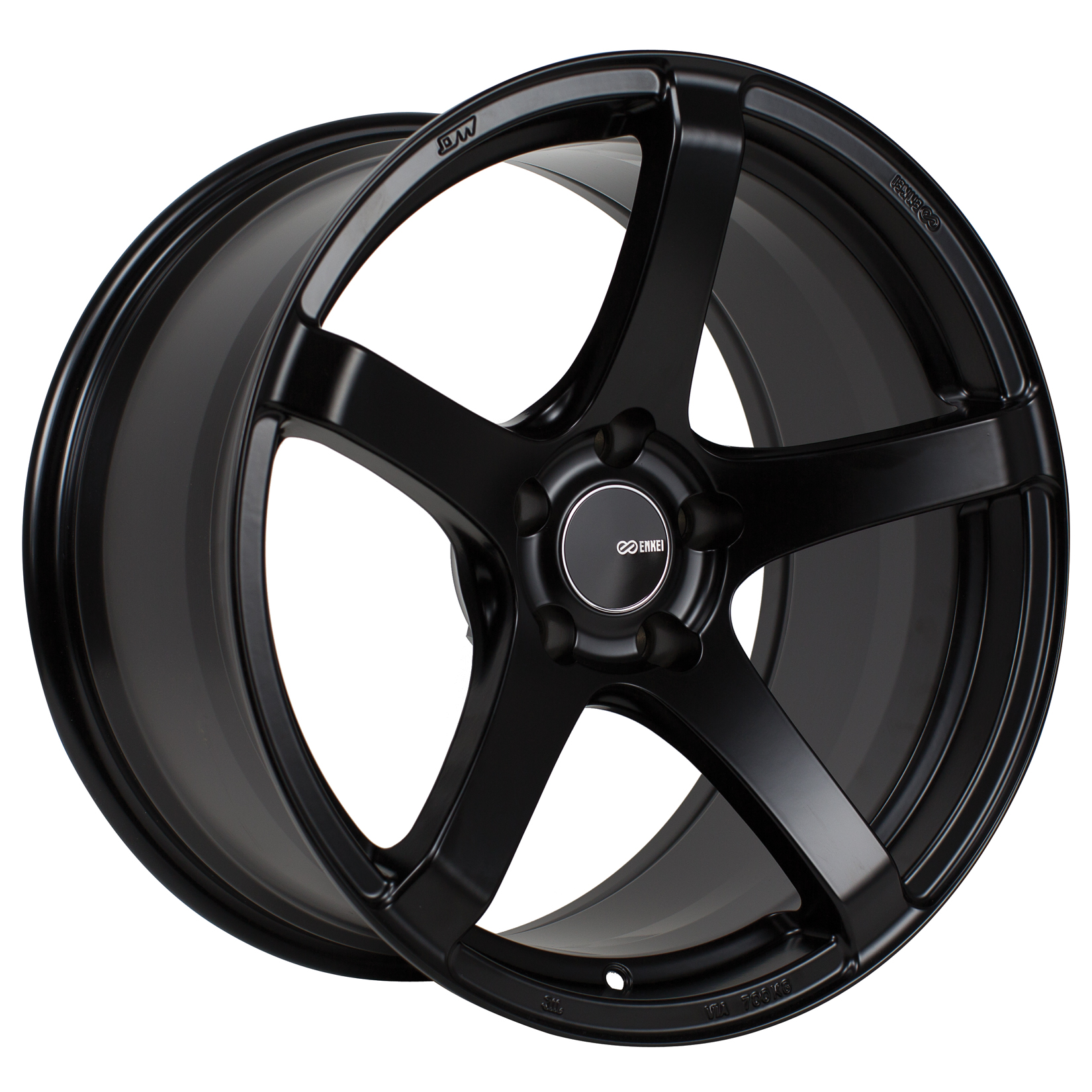 Enkei KOJIN Black Wheel: 17x8 +45