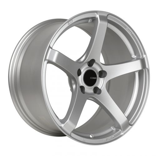 Enkei KOJIN Silver Wheel: 17x8 45mm Offset 5x114.3 72.6mm Bore-A1