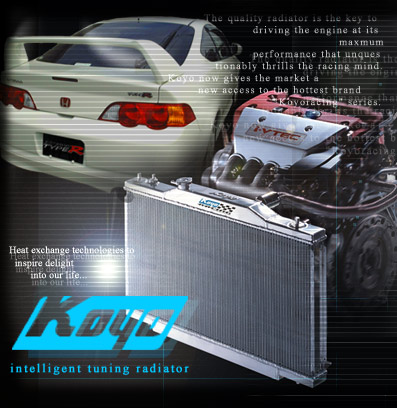 Koyo 02-06 RSX Manual Racing Radiator