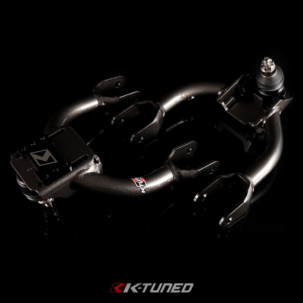 K-Tuned Front Camber Kit (Rubber Bushing)