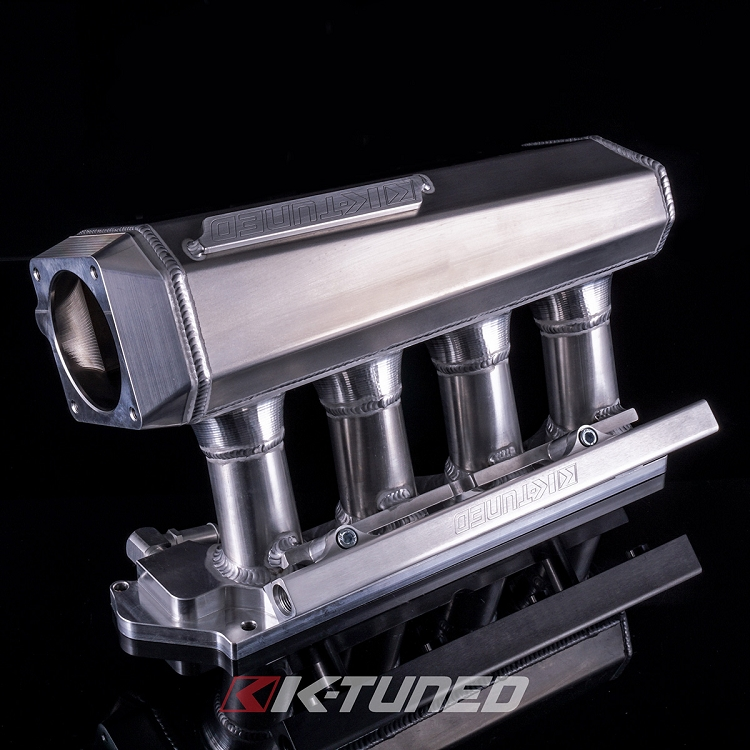 K-Tuned 02-06 RSX K20 Side Feed Intake Manifold with Fuel Rail