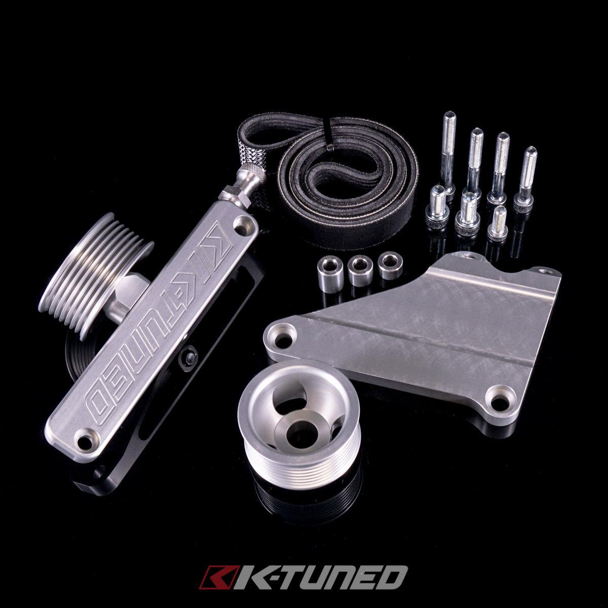 K-Tuned Universal A/C and PS Elimination Kit