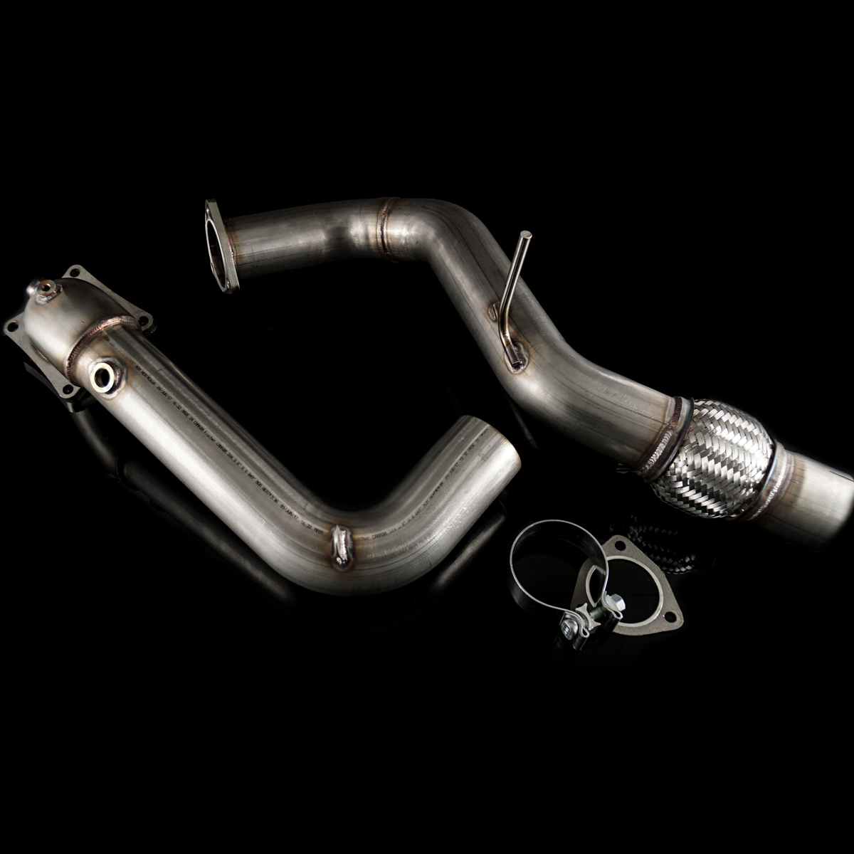 "K-Tuned 17-18 Civic Type R 3"" Downpipe"