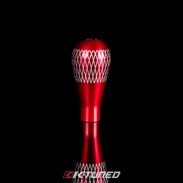 K-Tuned Lagrima Shift Knob: Red