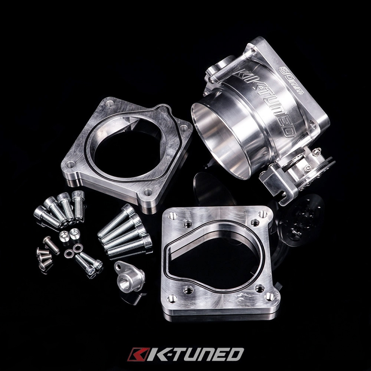 K-Tuned 80mm Throttle Body with RBC Adapter