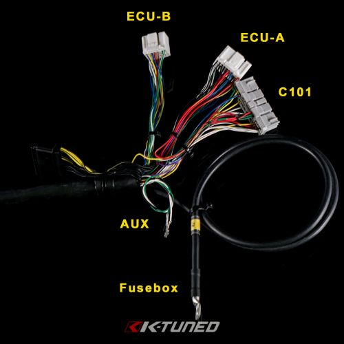 K-Tuned 02-04 RSX / 02-05 Civic Si Tucked Engine Harness: K Series PartsK Series Parts