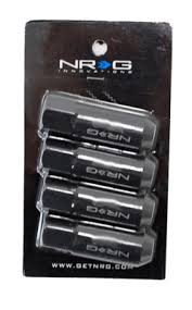 NRG 400 Series Tuner Style Extended Lug Nuts M12 x 1.5