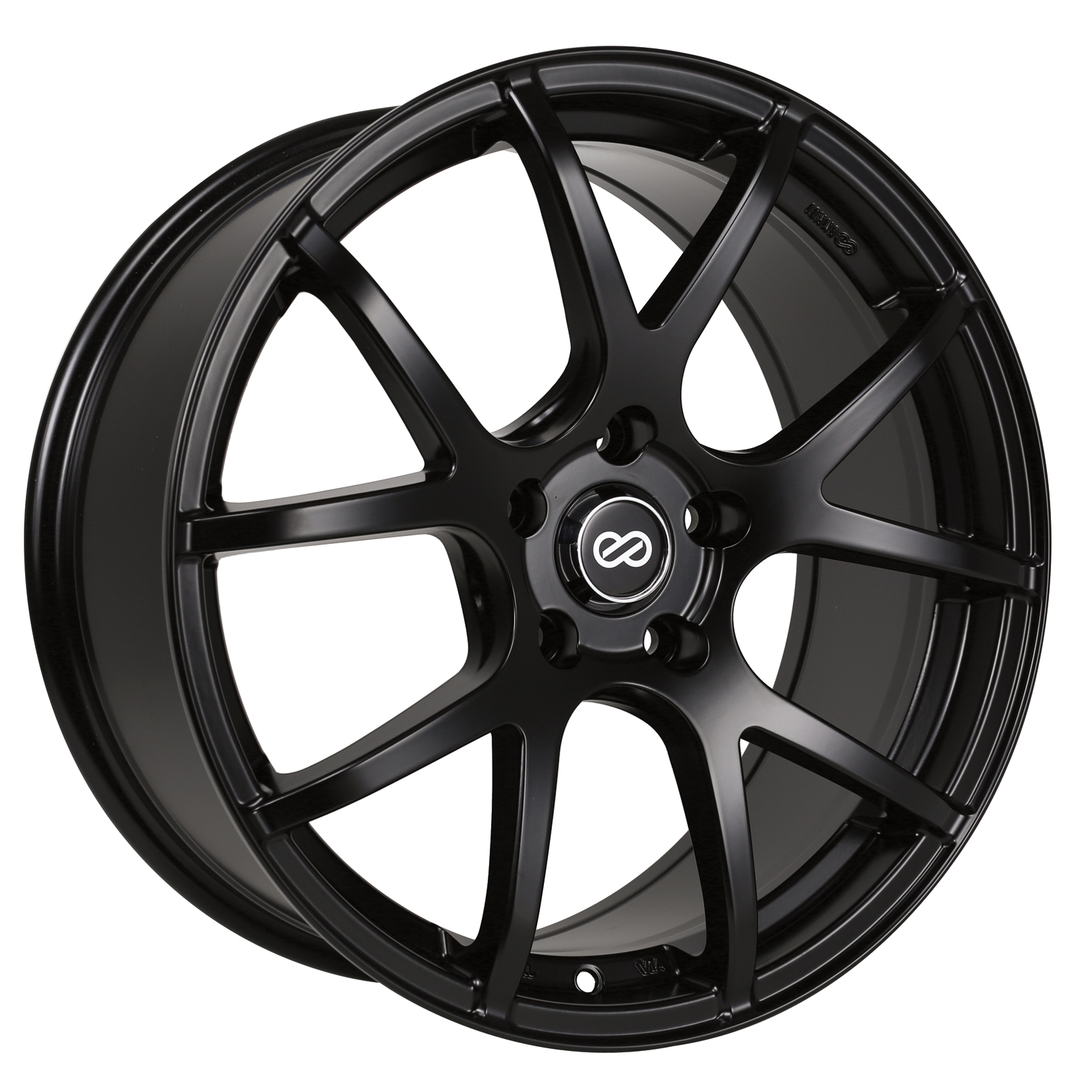 Enkei M52 Black Wheel: 17x7.5 +45
