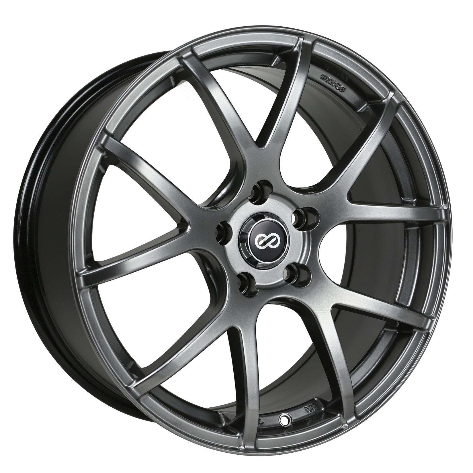 Enkei M52 Hyper Black Wheel: 16x7 +45