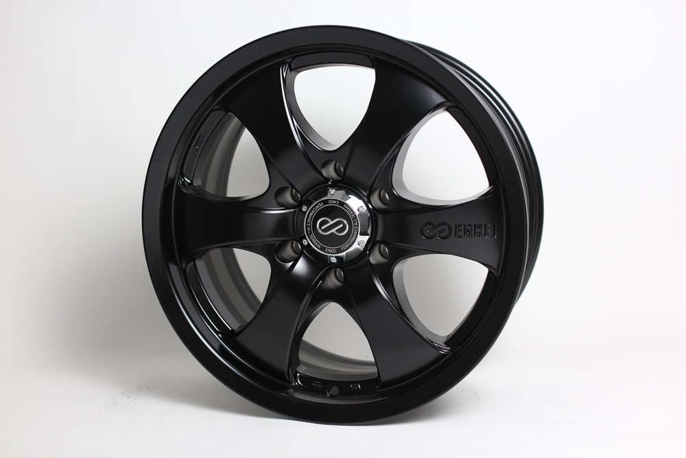 Enkei M6 Black Wheel: 17x8 +35