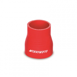 "Mishimoto 2.0"" to 2.5"" Transition Coupler: Red"