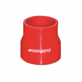 "Mishimoto 2.5"" to 3.0"" Transition Coupler: Red"