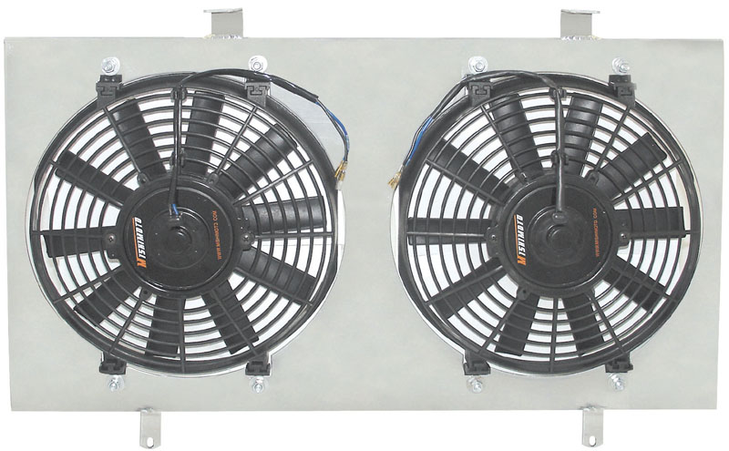 Mishimoto 02-06 RSX Fan Shroud with Fans