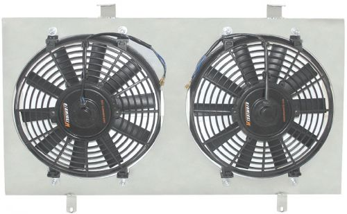 Mishimoto 02-06 RSX Fan Shroud with Fans-A1