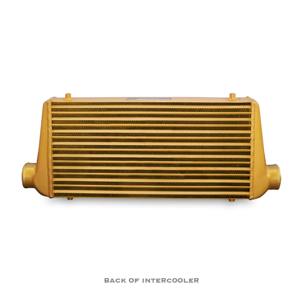 Mishimoto M-Line Eat Sleep Race Edition Gold Universal Intercooler-A5