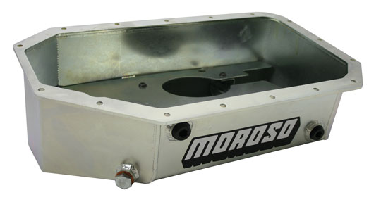 Moroso K20/K24 Baffled Oil Pan