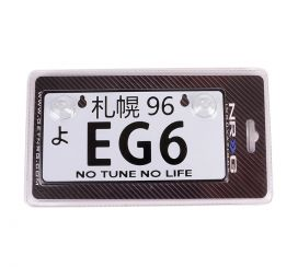 NRG JDM Mini License Plate: EG6