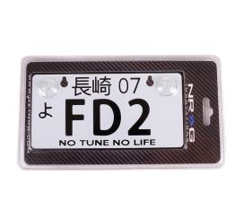 NRG JDM Mini License Plate: FD2