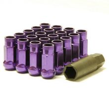 Muteki SR48 Purple M12x1.5 Open Ended Lug Nuts: 20 Pack