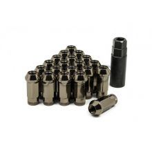 Muteki SR48 Titanium M12x1.5 Open Ended Lug Nuts: 20 Pack