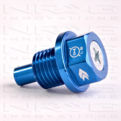 NRG Magnetic Oil Drain Plug: Blue