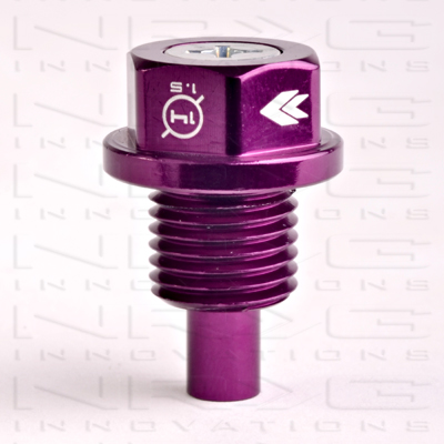 NRG Magnetic Oil Drain Plug: Purple