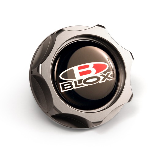 Blox Billet Oil Cap: Gunmetal