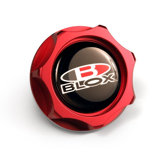 Blox Billet Oil Cap: Red