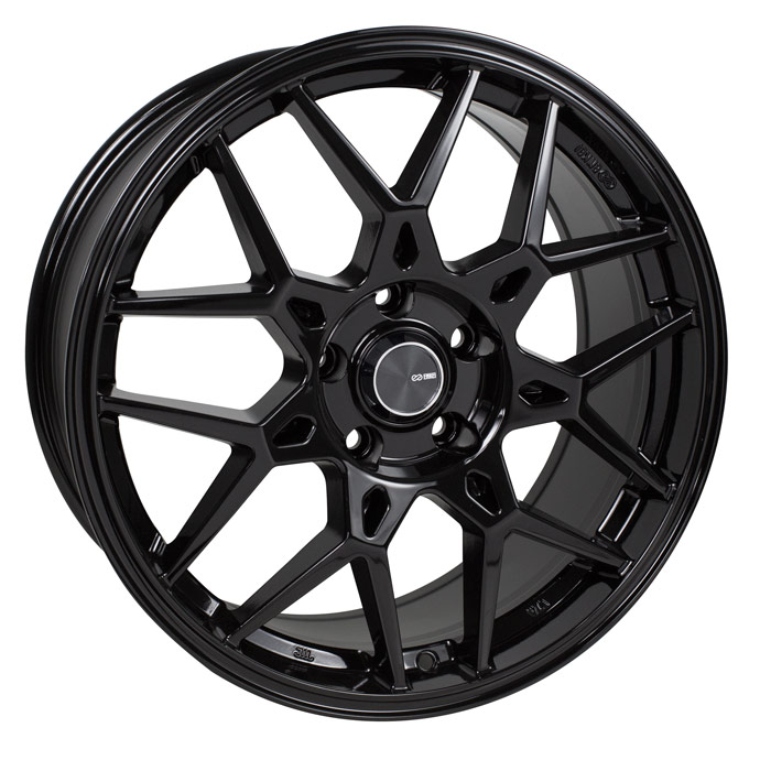 Enkei PDC Black Wheel: 18x8 +45