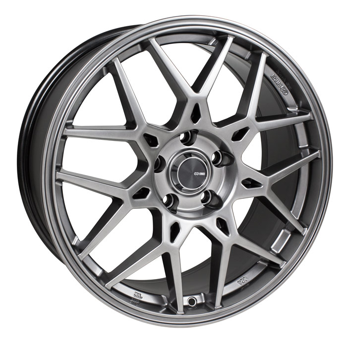 Enkei PDC Matte Grey Wheel: 17x7.5 +42