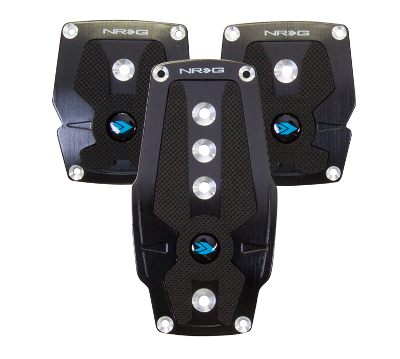 NRG Pad Cover Plate Pedal: Black