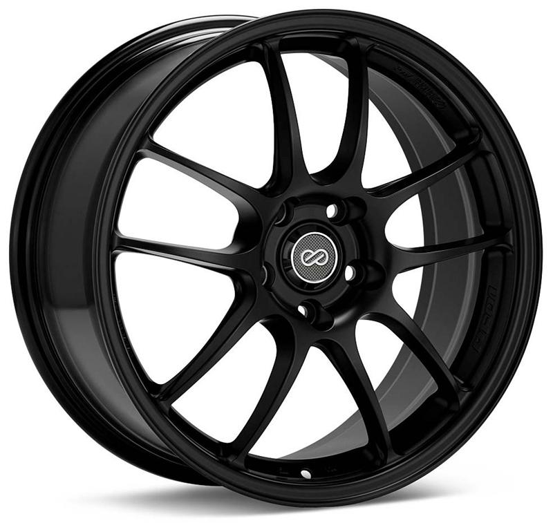 Enkei PF01 Black Wheel: 17x9 +35