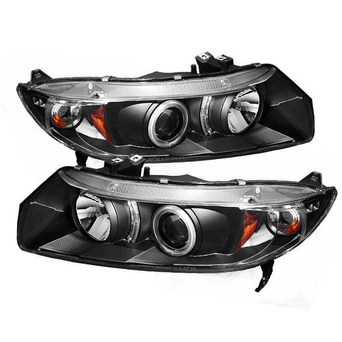 Spyder Auto 06-08 Civic Coupe Halo Projector Headlights