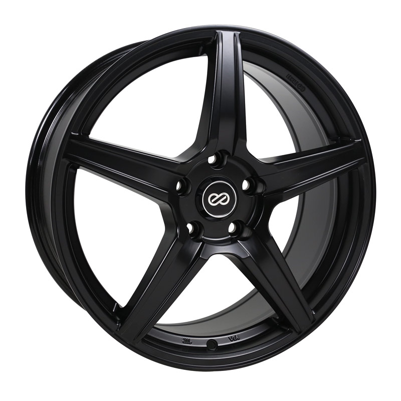 Enkei PSR5 Black Wheel: 17x8 +40