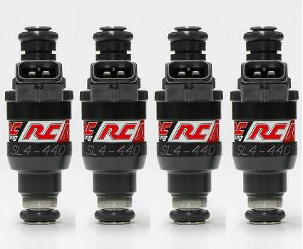RC Engineering 440cc Injectors: 4 Pack