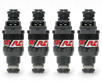 RC Engineering 650cc Injectors: 4 Pack