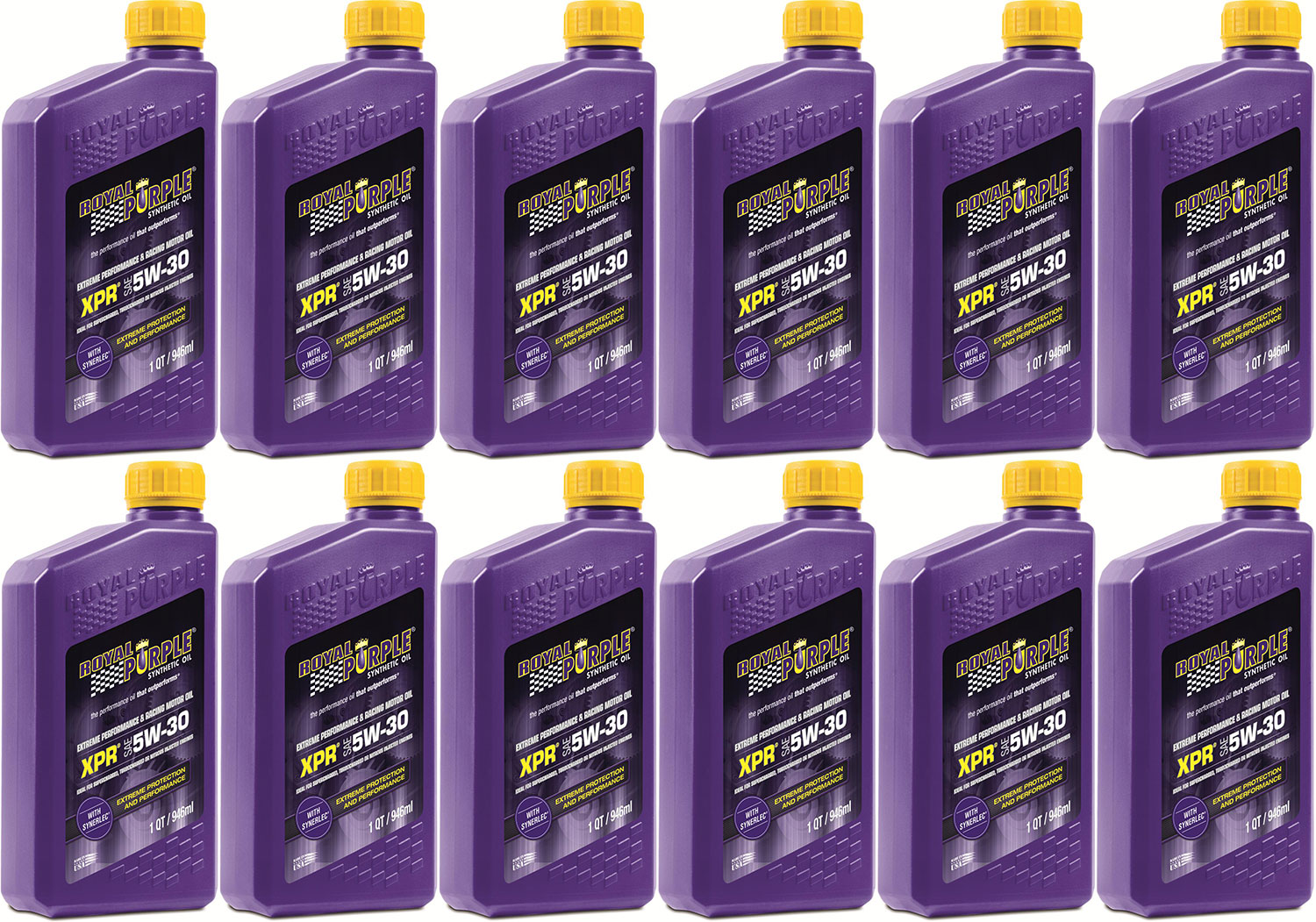 Royal Purple XPR Extreme Performance Racing Oil: 5w-30 12 quarts case