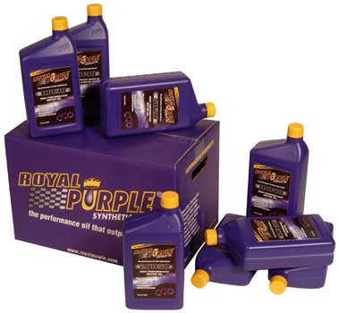 Royal Purple Motor Oil: 1 Case(12 Quarts) 5W30