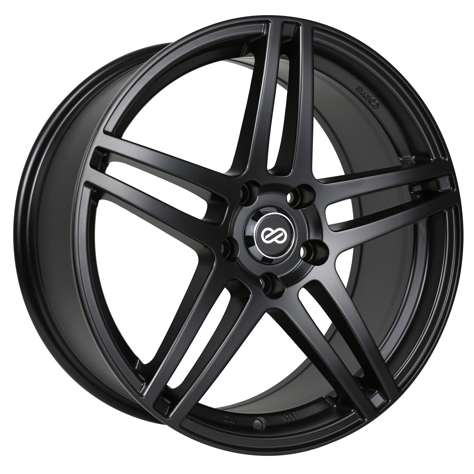 Enkei RSF5 Black Wheel: 18x8 +40