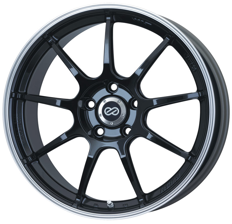 Enkei RSM9 Black Wheel: 17x7 +45