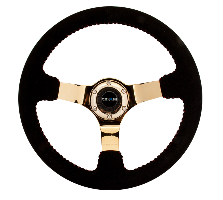 NRG Gold Race Style Steering Wheel