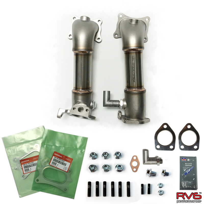 RV6 Performance 13-17 Accord V6 PCDs (Precat Deletes)