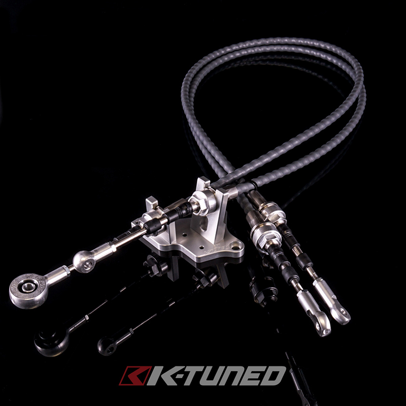 K-Tuned Race-Spec Shifter Cables K24Z7 Transmission