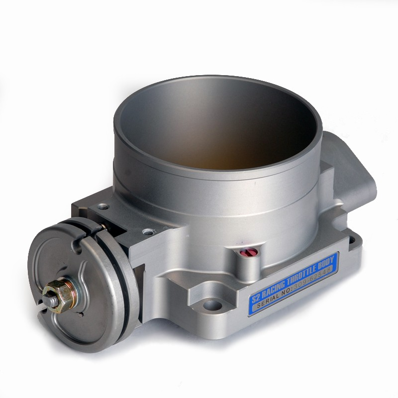 Skunk2 90mm Pro Series Throttle Body: Silver