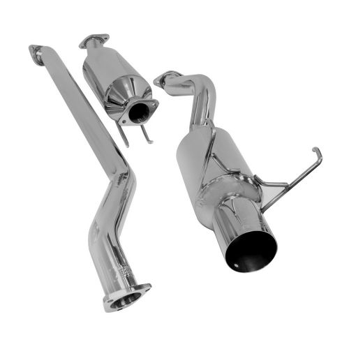 DC Sports 02-05 Civic Si Cat-Back Exhaust System-A3