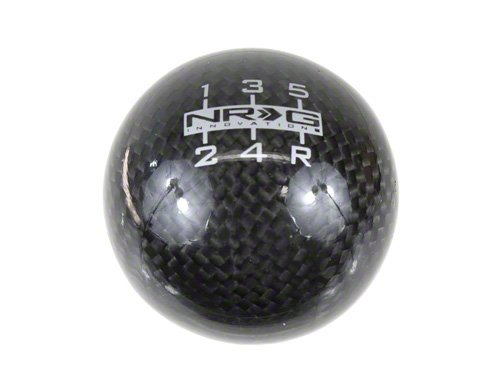 NRG Universal Heavy Weight Carbon Fiber 5 Speed Shift Knob